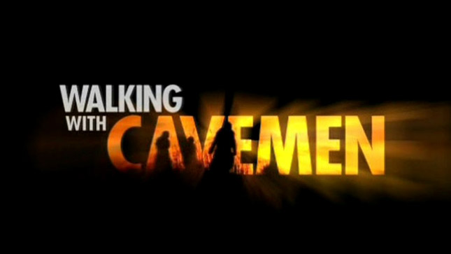 LOGO WALKING WITH CAVEMEN