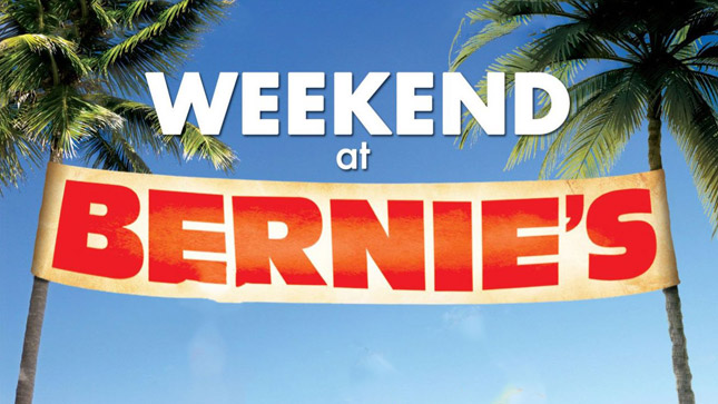 LOGO WEEKEND AT BERNIE'S