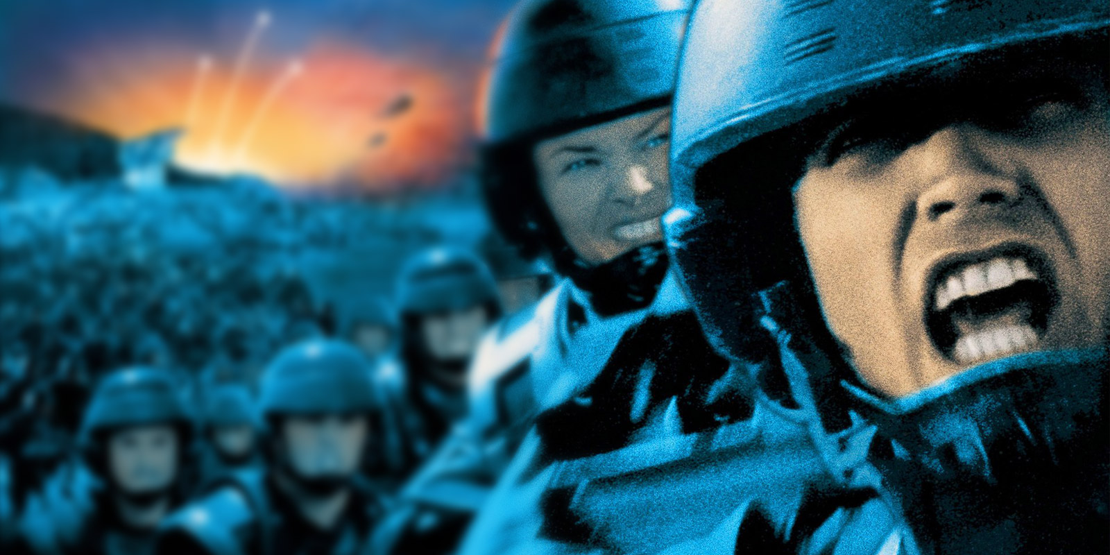 BANNER STARSHIP TROOPERS