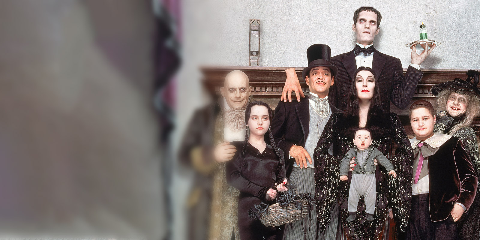 BANNER THE ADDAMS FAMILY 2
