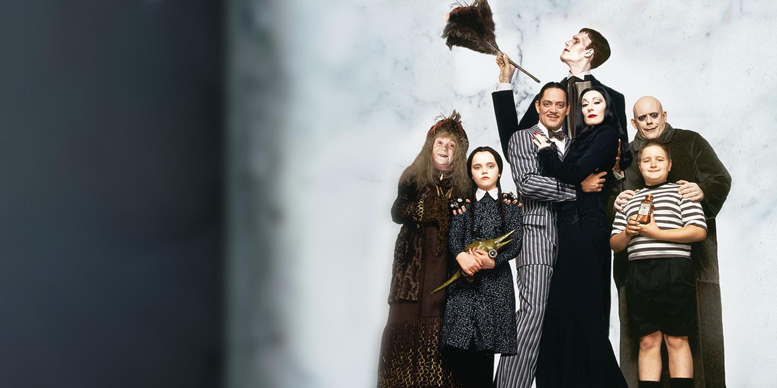 BANNER THE ADDAMS FAMILY