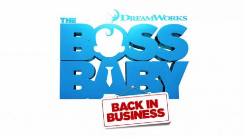 LOGO THE BOSS BABY - BACK IN BUSINESS