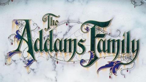 LOGO THE ADDAMS FAMILY