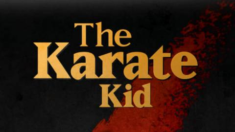 LOGO THE KARATE KID 1