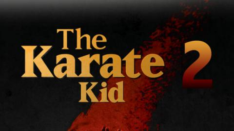 LOGO THE KARATE KID 2